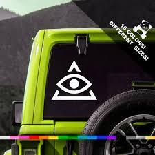A50 Off Illuminati Sign Car Decal Illuminati Truck Or Etsy