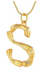 celine alphabet necklace