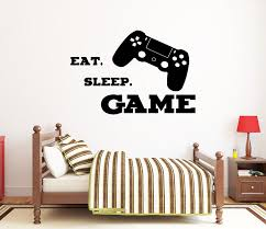 Gamer Wall Decal Video Games Wall Sticker Playstation Ps4 Etsy Game Room Wall Art Wall Decals Room Wall Art