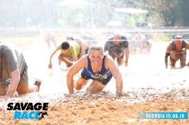savage race georgia fall 2018 mud run