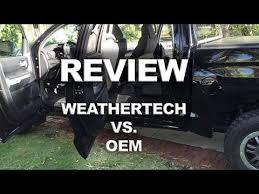 weathertech vs oem toyota tundra