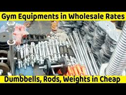 gym equipments in rates in chor