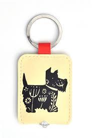 patterned scottie dog led key light