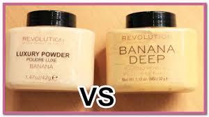 banana deep vs banana makeup