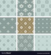 or orient victorian background vector image