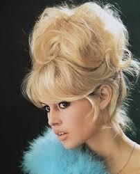 60s beehive hair style