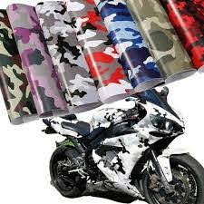Camouflage Vinyl Wrap Sticker For Motorcycle Car Mirror Phone Laptop Camo Decal Ebay