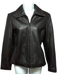 genuine lambskin leather jacket s p