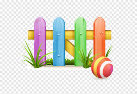 Color Fence Cartoon Fence Material Pastoral Cartoon Character Happy Birthday Vector Images Png Pngegg