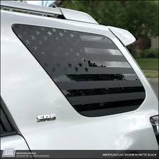 Toyota 4runner American Flag Side Window Decal Fits 2010 2021 5th Importequipment