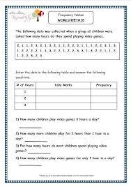 tally chart worksheets bar charts