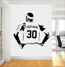 Personalized Name And Number Basketball Decal Play Vinyl Wall Sticker Home Deocr For Boys Room Sport Teens Bedroom Custom 3y28 Buy At The Price Of 6 42 In Aliexpress Com Imall Com