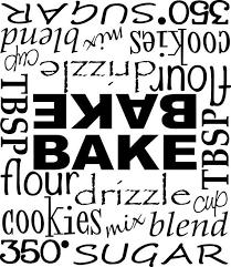 Kitchenaid Mixer Vinyl Decal Sticker Dessert Bake Flour Cookie Living Word Designs