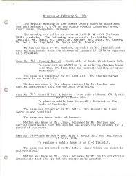 BOA Minutes - February 9, 1976