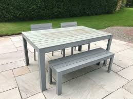 ikea garden table chairs and bench