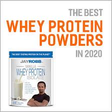 best whey protein powders in 2020