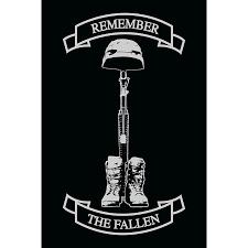 Opsgear Remember The Fallen Decal 4 X 6 Remember The Fallen Soldier Tattoo Fallen Soldier Tattoo