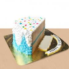 Send Beautiful Cake For Half Birthday Online By Giftjaipur In Rajasthan