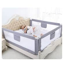 Order New 2m Baby Bed Fence For Child Safety Used As Baby Gate From Falling Accidentally While Sleeping Or Playing Online