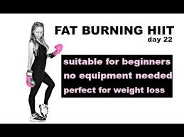 fat burning hiit cardio workout with no