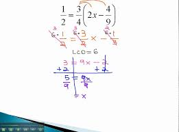 linear equations distributing with