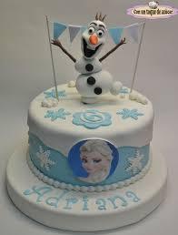 Tarta Fondant Frozen Tarta Fondant Olaf Olaf Cake Frozen Cake