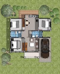 single y modern house is simple
