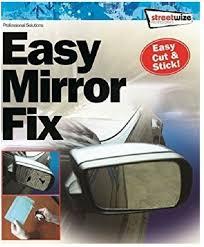 repair kitcar wing mirror glass fix
