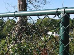 Pvc Coated Chain Link Fence Weaving Features And Application