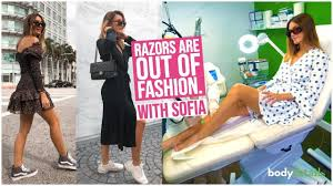 Razors Are Out of Fashion | Laser Hair Removal Miami | Sofia Morgan | Body  Details - YouTube