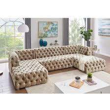 china american style sofa velvet fabric