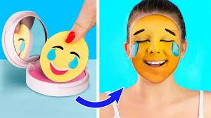 10 crazy makeup ideas diy emoji