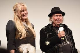 Neil Young and Daryl Hannah got married, after all