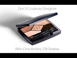 dior 5 couleurs designer palette review