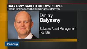Balyasny's Hedge Fund Is Said to Cut 125 People as Losses Mount - Video -  BNN