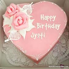 latest happy birthday cake and photo jyoti happy