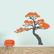 Japanese Bonsai Tree Wall Decal