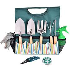 10 pcs gardening planting hand tools