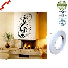 Buy Music Sign Musical Notation Removable Wall Sticker Decal Kids Boys Girls Room Baby Nursery Home Decor Room Background Art In Cheap Price On Alibaba Com