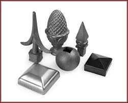 Decorative Iron Spears Finials Caps Order Online