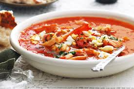 Rice and seafood soup) - Recipes ...