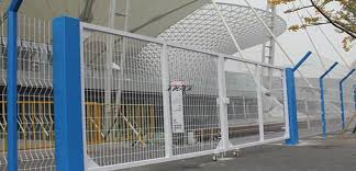 Fence Gate Double Door Factory Reinforcing Welded Mesh Temporary Fencing Crowd Control Barrier China Hebei Zhuoxing Wire Mesh Products