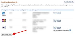 paypal account with a virtual visa card