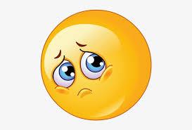 sad emoji transpa background sad