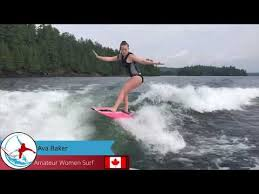2020 Online WRS Series Event #3 - Amateur Women Surf - Ava Baker ...