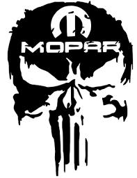 Mopar Punisher 2 0 Distressed Decal 4 Vinyl Car Window Truck Sticker 12 Colors Ebay