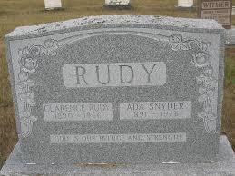 Ada Rudy (Snyder) (1891 - 1976) - Genealogy