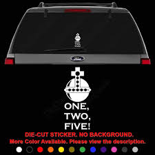 Amazon Com Holy Hand Grenade Monty Python 1 2 5 Die Cut Vinyl Decal Sticker For Car Truck Motorcycle Vehicle Window Bumper Wall Decor Laptop Helmet Size 12 Inch 30 Cm Tall And Color Matte Black