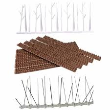 Vova Details About Bird Spikes Fence Wall Security Cat Deterrent Intruder Repellent Anti Climb