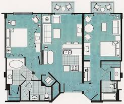 two bedroom layout at bcv the dis